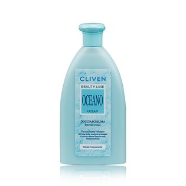 CLIVEN香草森林-軟化角質香水沐浴乳(海藍)300ml