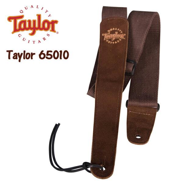 【非凡樂器】Taylor Guitar Strap 65010 麂皮帆布吉他背帶/肩帶(木吉他/貝斯/電吉他用) 加拿大製【寬版】