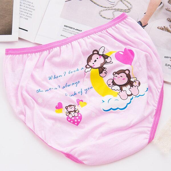 【席艾妮/SHIANEY】小猴子女童三角褲 三件一組-712