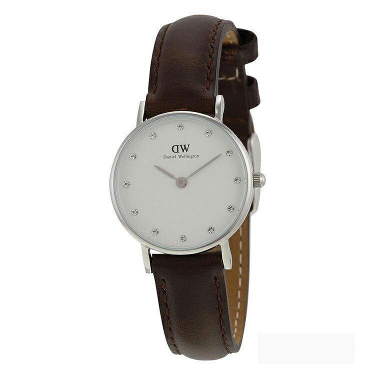 瑞典正品代購 Daniel Wellington 0923DW 銀 玫瑰金  真皮 錶帶 男女錶 手錶腕錶 26MM 2