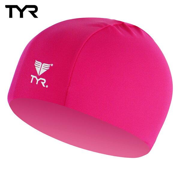 美國TYR 成人萊卡泳帽 Lycra Swim Cap Pink 台灣總代理