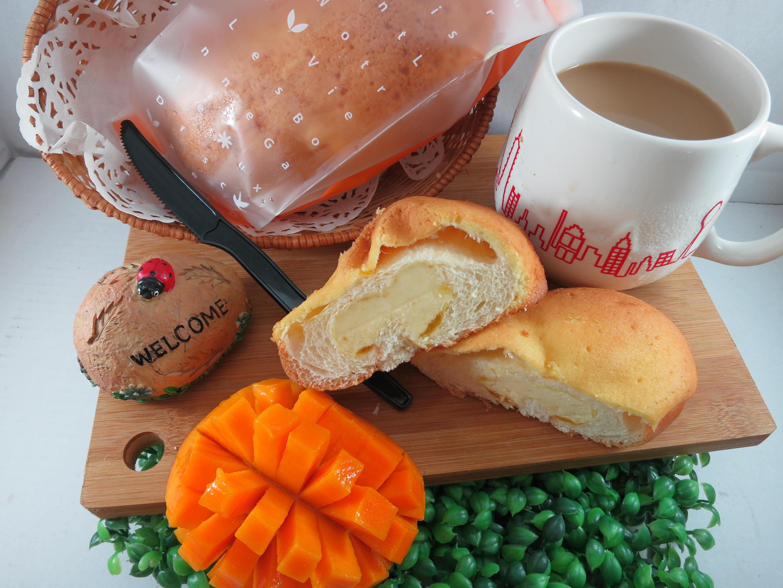 【Bliss Castle】首創灌飽包#爆漿麵包#芒果(四入一盒)#下午茶#夏日野餐趣#多種吃法# 1