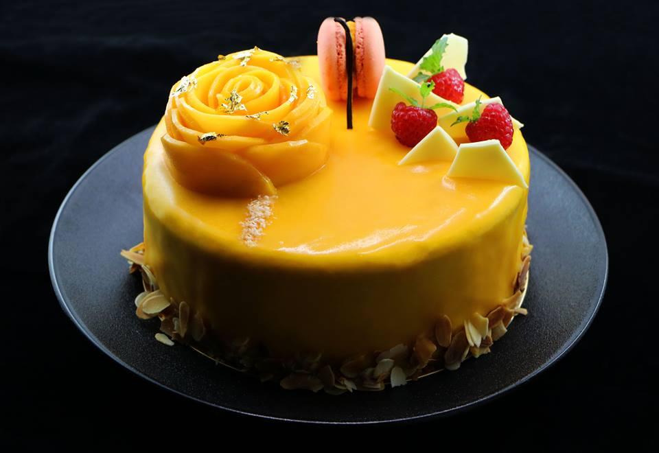 芒果百香果慕斯蛋糕 0