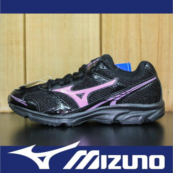 【出清65折!】萬特戶外運動-MIZUNO美津濃 K1GA150159 MAXIMIZER 17 基本款 慢跑 學生鞋 寬楦 黑色 女款