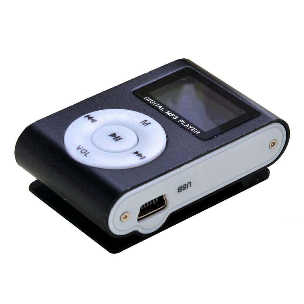 MP3 NEGRO CON PANTALLA DIGITAL, FM RADIO, MP3/WMA MUSIC, AUDIO IN 1