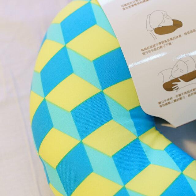 70年代普普風 頸枕  紓壓/休息 便利實用   3色可選 3