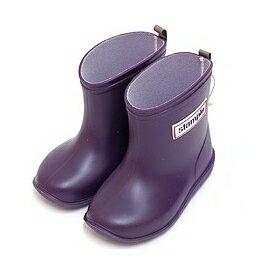 【本月贈鞋墊】日本【Stample】兒童雨鞋(藍莓紫) 0