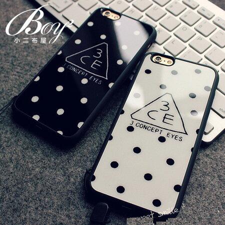 ☆BOY-2☆【N4011】韓國軟膠點點手機殼 蘋果iPhone6 5/5s