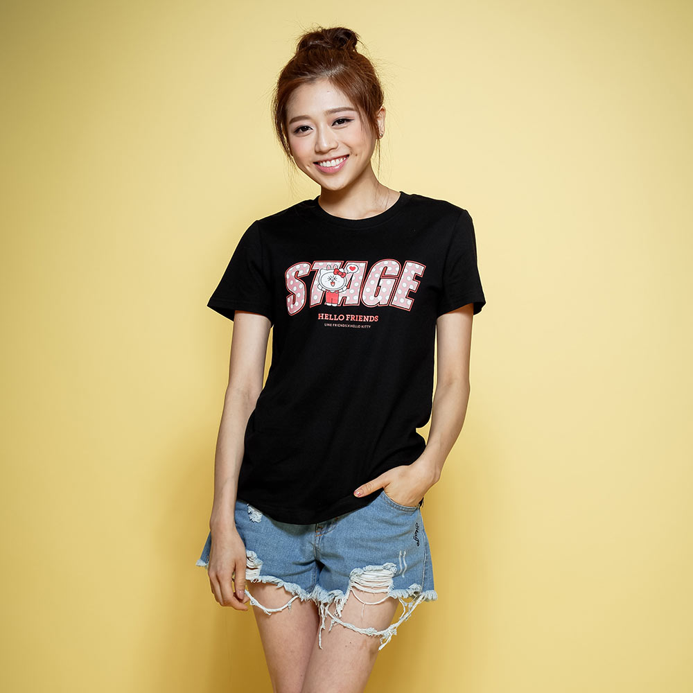 STAGE x HELLO FRIENDS 聯名限定 CONY ON STAGE TEE 0