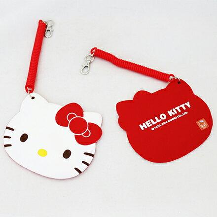 【敵富朗超巿】Kitty臉型伸縮票卡 1