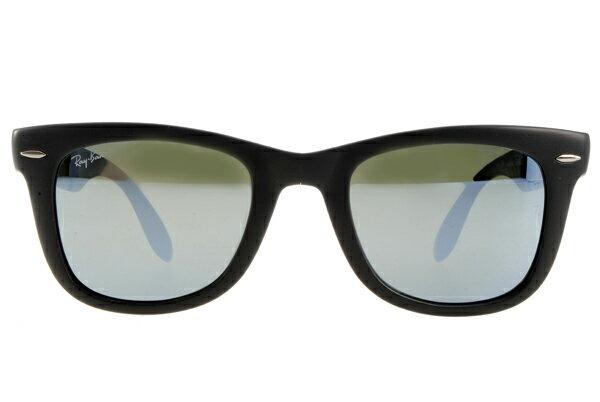 Ray Ban 雷朋 水銀鏡 霧黑 太陽眼鏡 RB4105 摺疊 3