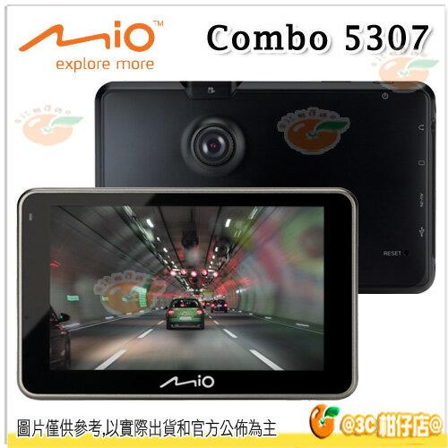 送16G Mio Combo 5307 三合一行車記錄導航機 5吋 1.8大光圈 全玻璃鏡頭 公司貨