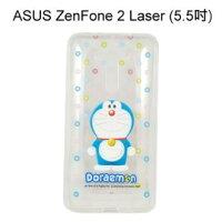 小叮噹週邊商品推薦哆啦A夢透明軟殼 [微笑] ASUS ZenFone 2 Laser ZE550KL (5.5吋) 小叮噹【正版授權】