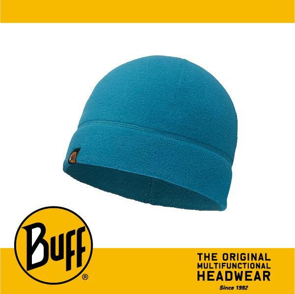 BUFF 西班牙魔術頭巾 POLAR保暖系列 保暖帽 ^~素面藍^~ BF110929~7