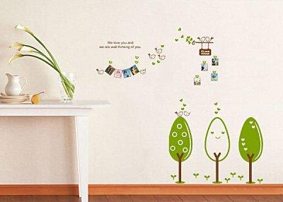 BO雜貨【YV2101】創意可移動DIY時尚組合 壁貼 牆貼 壁貼 創意壁貼 照片貼 相片 甜蜜樹家