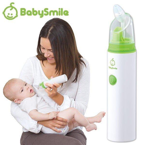 【安琪兒】日本【Babysmile】攜帶型電動吸鼻器+市價$200長吸頭