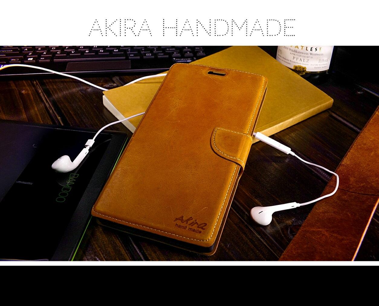 [SONY] Akira手工真皮皮套 [基本款棕色][Z2,Z3,Z4,Z5,Z5+,Z5C,C4] 1