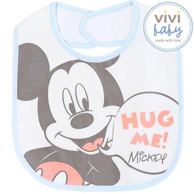 ViViBaby - Disney迪士尼繽紛米奇歡樂中圍兜 1