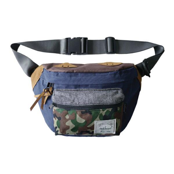 REMATCH - Matchwood Portable 腰包 藍迷彩款 斜背包 側背包 隨身包 胸前包 基本內層防水 / 單車運動 / 旅遊休閒隨身 / HEADPORTER / Herschel / Supreme 可參考