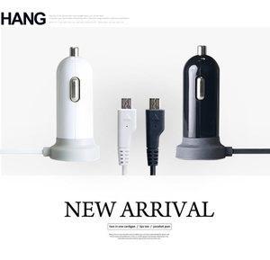 HANG H1000 雙輸出車充 Micro 2.1A雙USB輸出接口 手機平板通用型車充