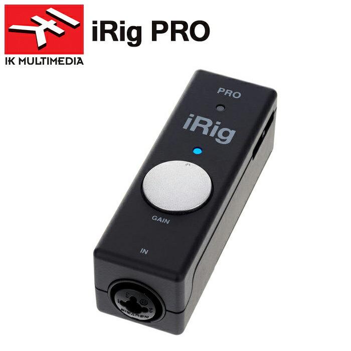 【非凡樂器】IK iRig pro 聲音/麥克風/midi三合一錄音介面(義大利/原廠)蘋果iPhone、iPad、Mac用