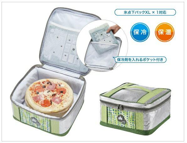 【露營趣】中和 日本 LOGOS LG81670560 INSUL10PIZZA保溫冷提袋7L 保冷袋 冰桶 保冰袋 保溫袋 起司蛋糕袋