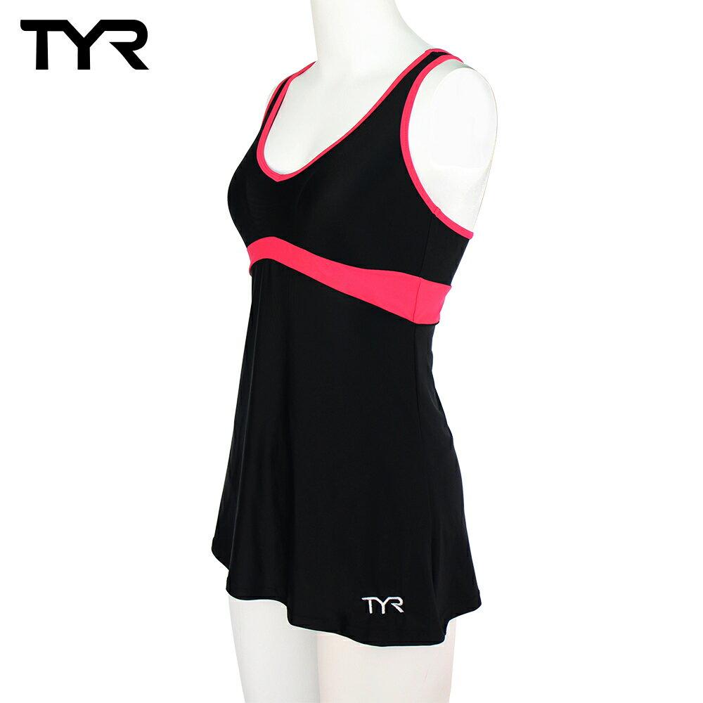 美國TYR女用修身連身裙泳裝Celsia Swim Dress Peach台灣總代理 - 限時優惠好康折扣