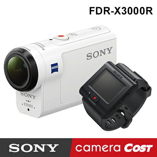 【4K防水】SONY FDR-X3000R 4K 攝影機 公司貨 送SanDisk64G+副電+座充超值組 X3000R X3000 防水 0