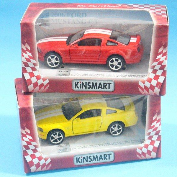 福特2006 FORD MUSTANG GT合金車 1:36模型車 KT5091 迴力車(紅盒)/一台入{促199}