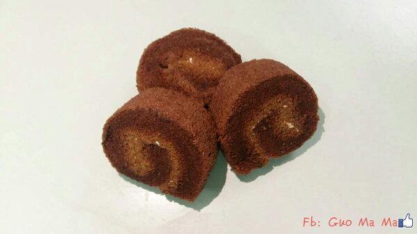 十包免運可混搭~~~郭媽媽手工蛋糕 - 巧克力瑞士捲(小)