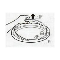 弟一夫人饌道微電腦壓力鍋-鍋蓋密封圈