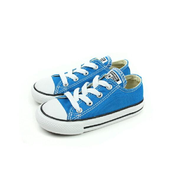 CONVERSE CTAS 帆布鞋 藍 小童 no197