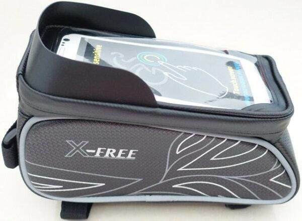 《意生》4吋~6吋手機都可用時尚六色X-FREE 020遮光上管包 腳踏車上管馬鞍包小馬鞍自行車包手機置物袋馬鞍袋