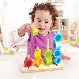 【德國Hape愛傑卡】小寶寶疊疊樂