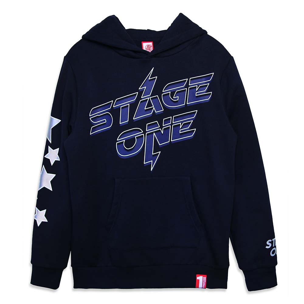 STAGEONE ALL STAR HOODIE 黑色 / 丈青色 兩色 5