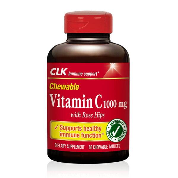 CLK健生生技-維生素C 1000mg咀嚼錠