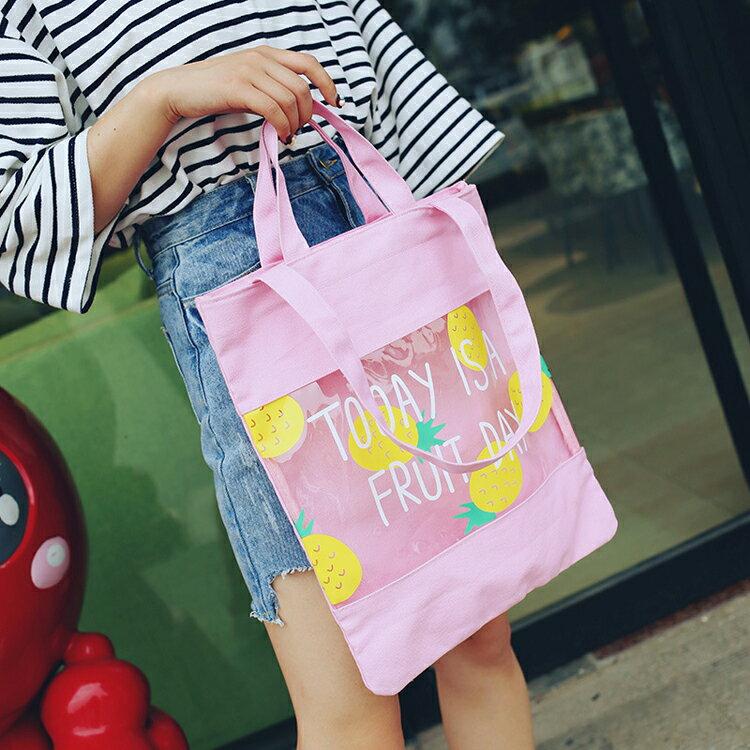手提包 手提包 帆布袋 手提袋 環保購物袋【PA234354】 BOBI  08/25 1