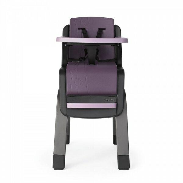 NUNA - ZAAZ 高腳椅 (紫黑) 贈品牌手提袋+可愛玩偶吊飾,加贈NUBY鮮果園禮盒!