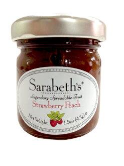 天然手工迷你果醬-草莓桃子口味 Strawberry Peach【Sarabeth's Kitchen】