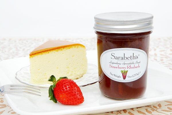 天然 果醬~草莓大黃口味 Strawberry Rhubarb~Sarabeth  ^#2