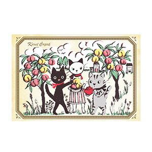 多汁蜜桃的午茶時光【卡雷爾恰佩克Karel Capek 】-山田詩子/手繪明信片