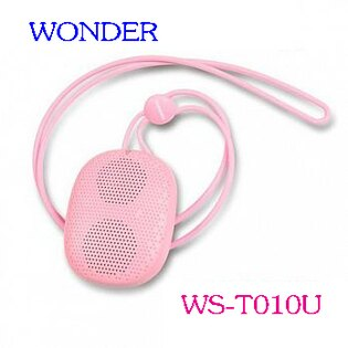 WONDER 旺德 WS-T010U 無線藍芽隨身喇叭(三色) ◆藍牙連接,無需密碼輸入,音樂擋不住 ◆內置低音振膜,低音深沉有力