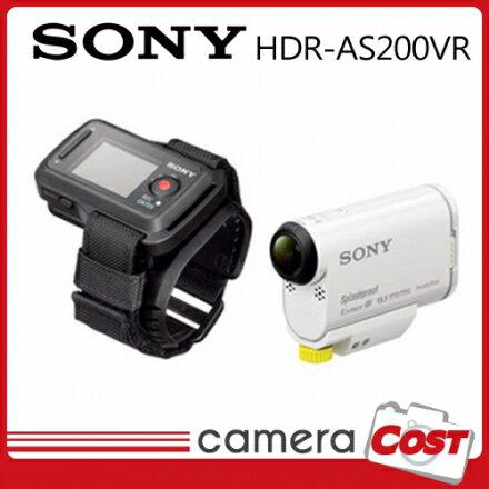 ★運動防水★【64G超值全配】SONY AS200VR AS200 HD 攝影機 公司貨