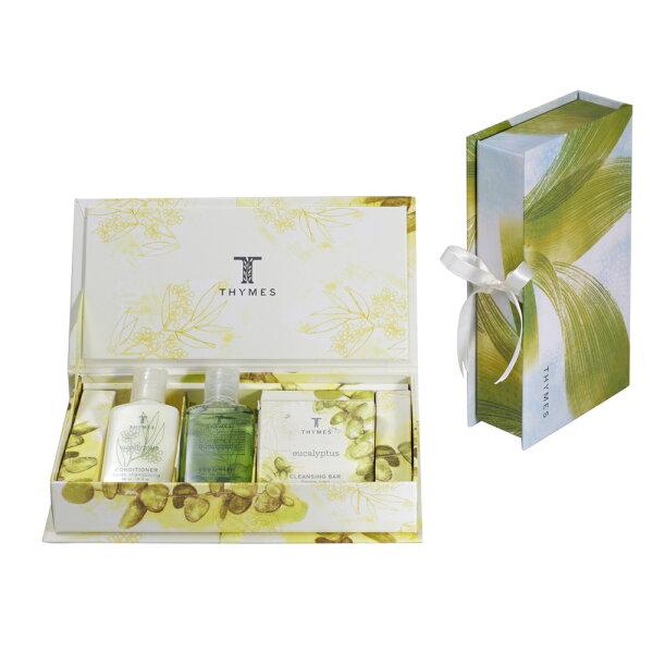 買一送一【草本24】Thymes三件組香氛禮盒(睡蓮+尤加利)
