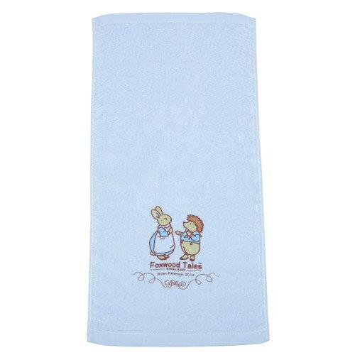 『121婦嬰用品館』狐狸村 純棉嬰兒細絨童巾 1