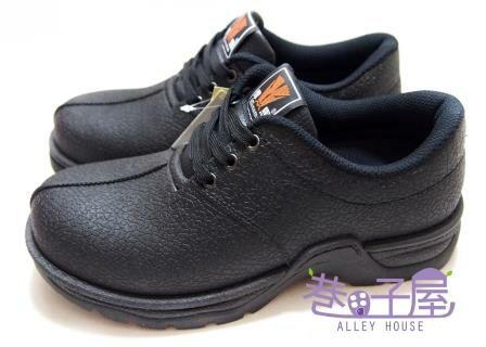 【巷子屋】Hanama悍馬 男款鋼頭多功能防潮鞋 T型排壓 一體成型 [881] 黑 MIT台灣製造 超值價$590