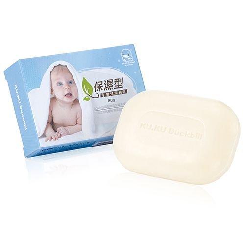 【奇買親子購物網】酷咕鴨KU.KU. 保濕型嬰兒潔膚皂80g