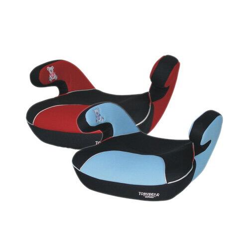 【奇買親子購物網】湯尼熊 Tony Bear 兒童輔助型汽車座椅(藍/紅)