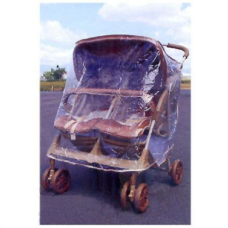 【奇買親子購物網】美國SYNCON 欣康 手推車雨罩(用於雙人 左/右)