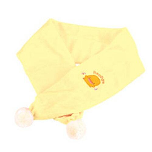 【奇買親子購物網】黃色小鴨剪毛絨圍巾